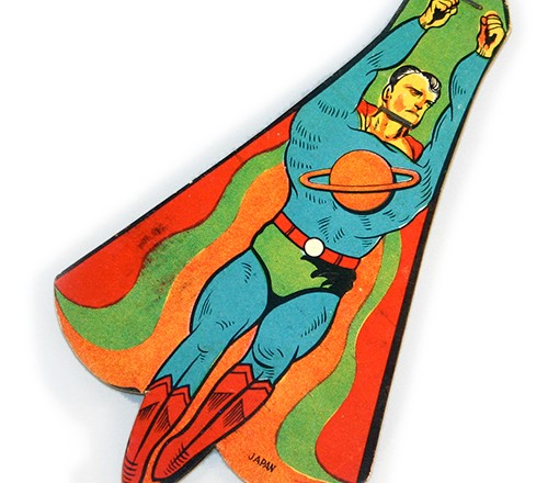 Superman, the man of … cardboard???