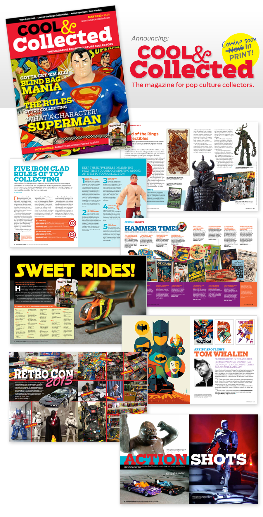 Cool & Collected Magazine for pop culture collectors