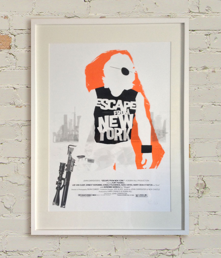 hey lucky poster - escape from new york
