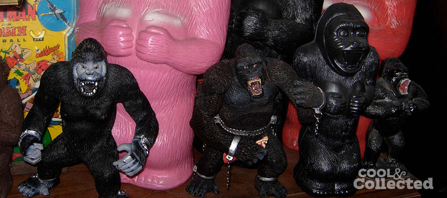 I went a little ape at the Big Flea Market