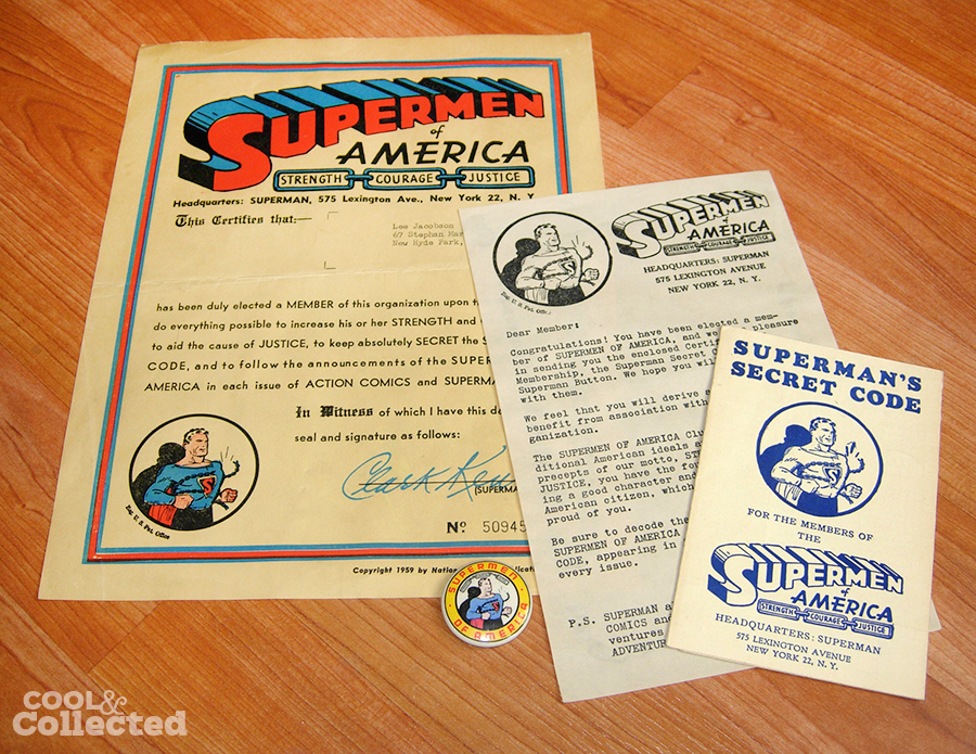 1959 supermen of america fan club