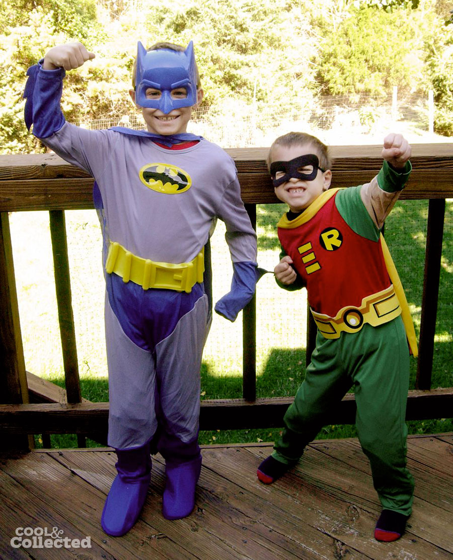 batman and robin halloween costumes