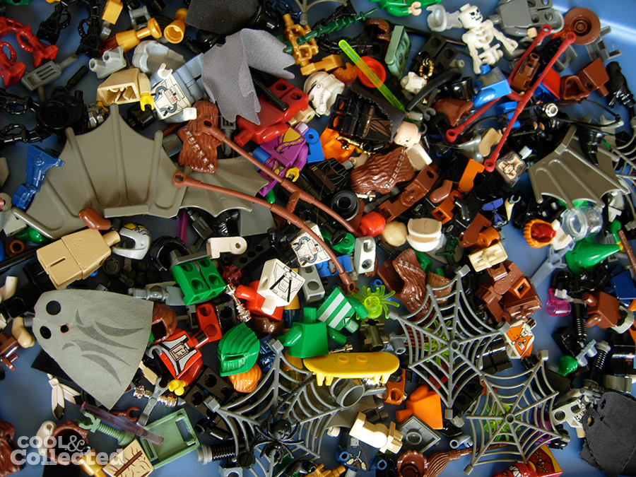 lego minifigs collection