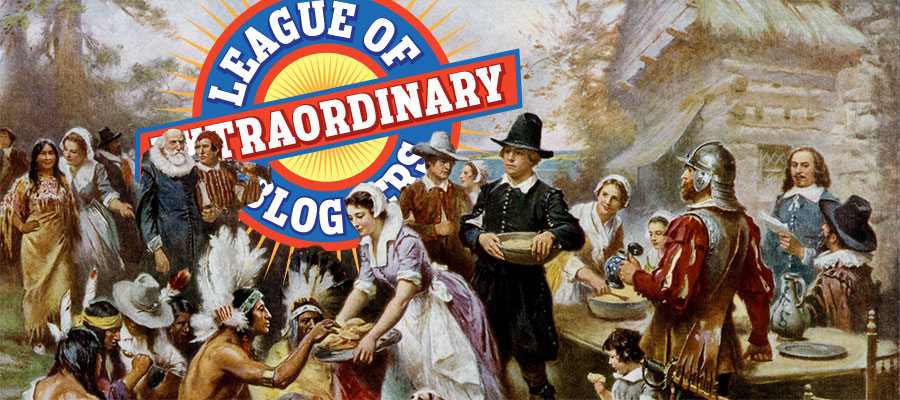 league of extraordinary bloggers Thanksgiving