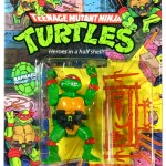 1988 TMNT Raphael action figure review
