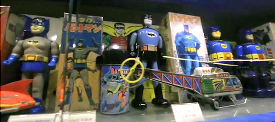 Tokyo Toy Guy showcases Batman collections around the world