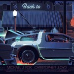 "Mondo ""Back to the Future"" posters by Laurent Durieux"