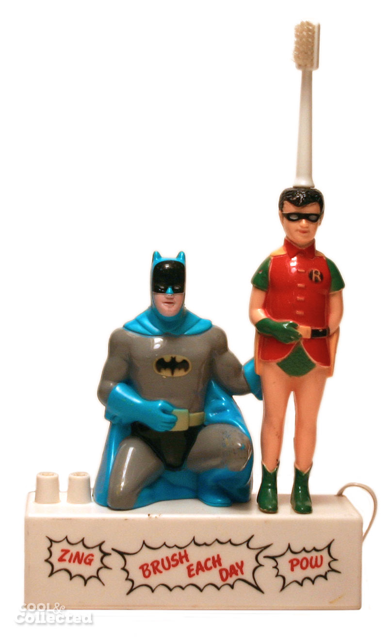 batman and robin janex toothbrush