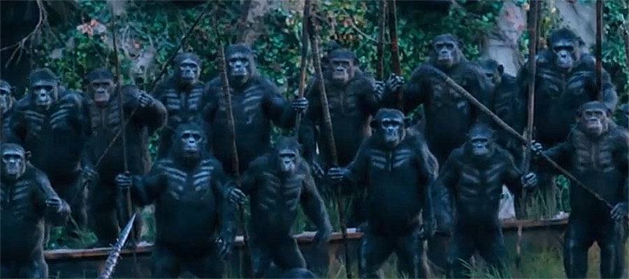 Monkey Monday: Dawn of the Planet of the Apes TV Spot