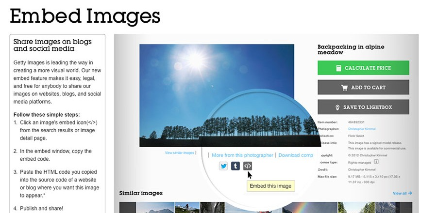 35 million images in Getty's catalog are now free
