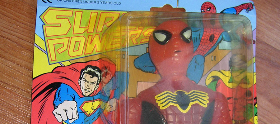 Remember when Spider-Man was in the Kenner Super Powers line?