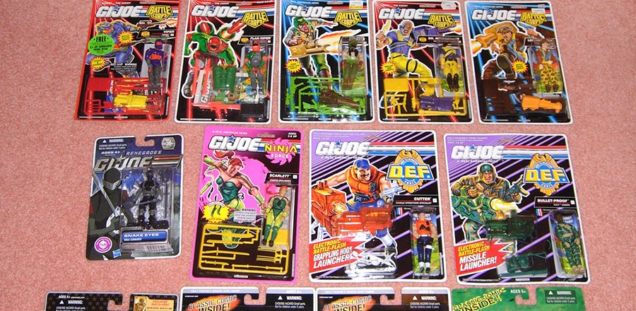 G.I. Joe figures for sale