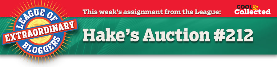This week's assignment from the League: Hake's Auction!