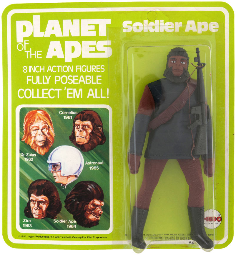 mego soldier ape action figure