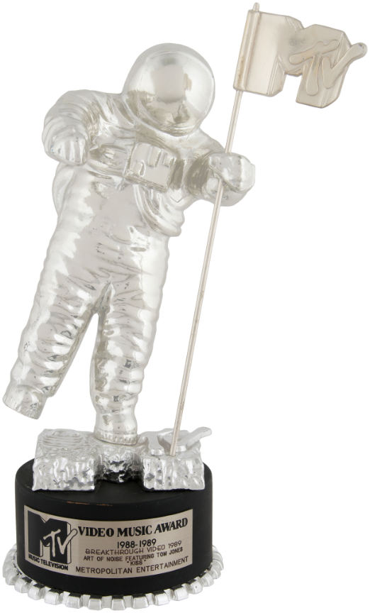 MTV video music award trophy