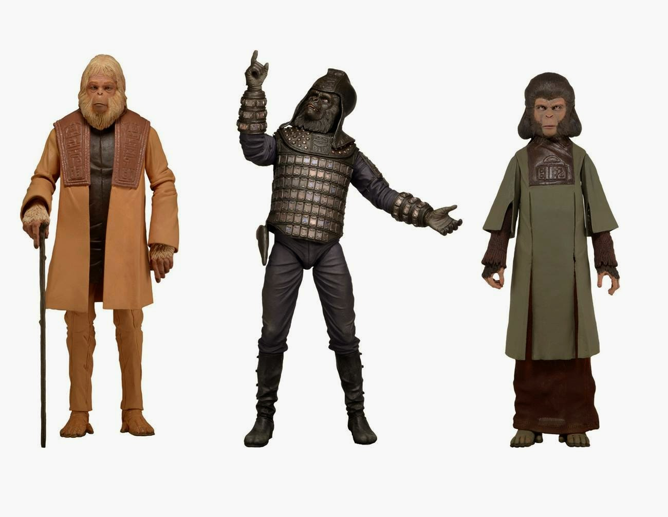 neca planet of the apes classics series 2 action figures