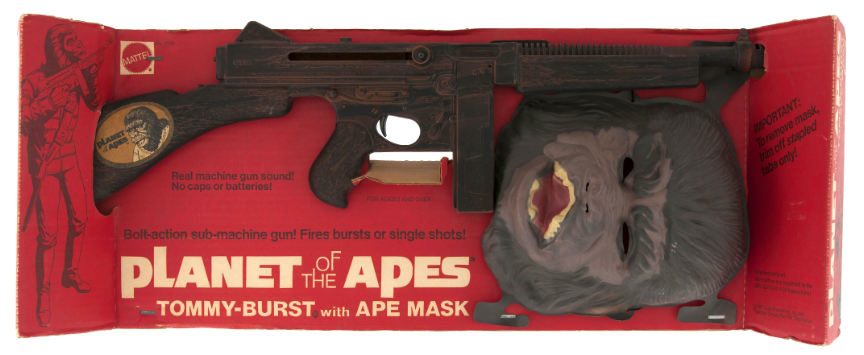 planet of the apes tommy gun