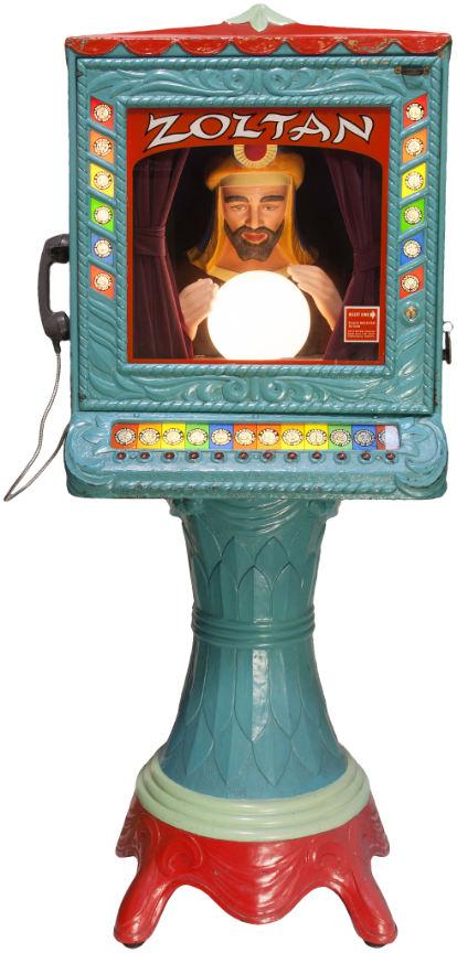 zoltan fortune teller machine