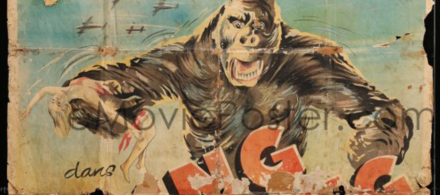 This King Kong poster tells a story