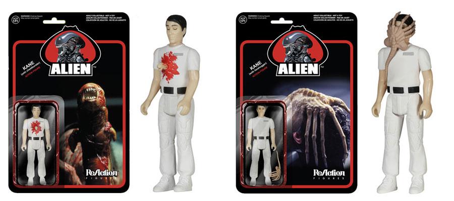 Alien ReAction Facehugger and Chestburster figures? Yep.