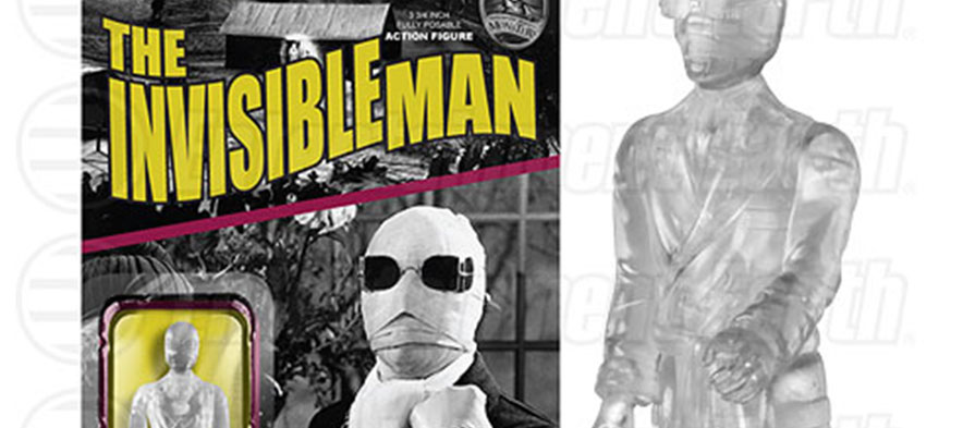 Funko Invisible Man ReAction figure exclusive