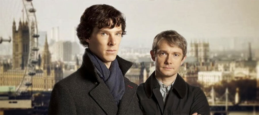 Have you seen Sherlock? It's not bad.