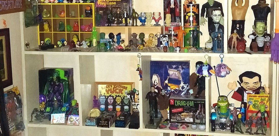 Collector Profile: Atomic City Pop's excellent eclectic collection