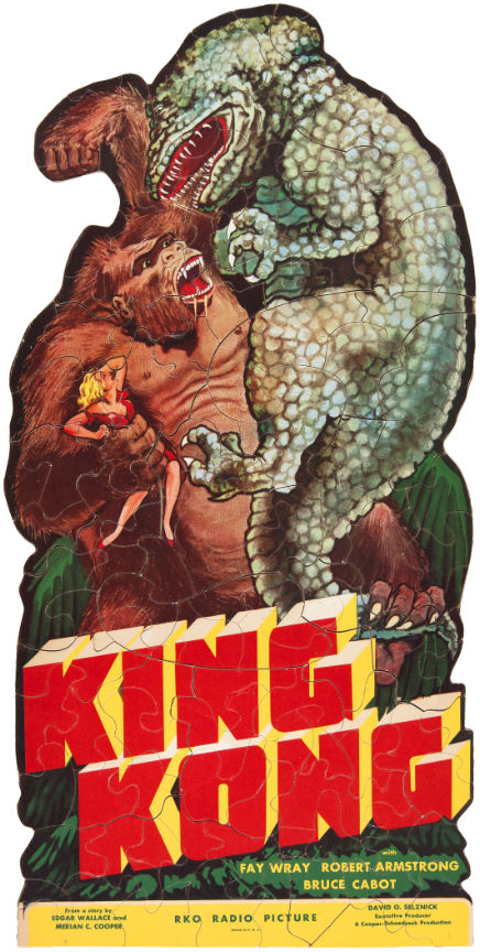vintage king kong puzzle promo
