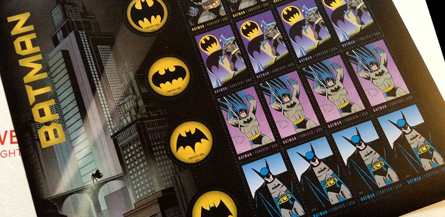 Batman Forever… Stamps