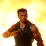 """Explosive"" trick for action figure photography"
