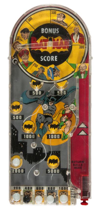 batman marx bagatelle pinball prototype