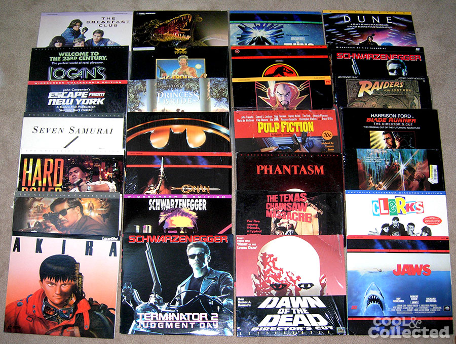 vintage-laserdisc-collection