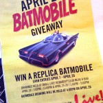 Batmobile Giveaway!