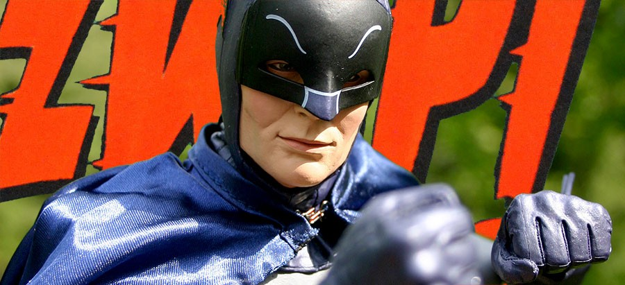 KRAAACK! — NECA 1/4 scale 1966 Batman