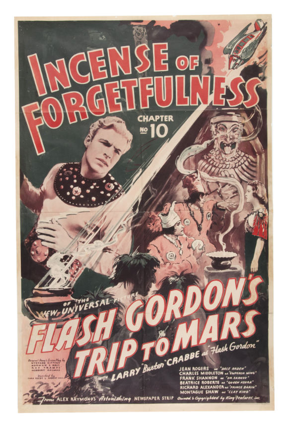 flash gordon trip to mars movie poster