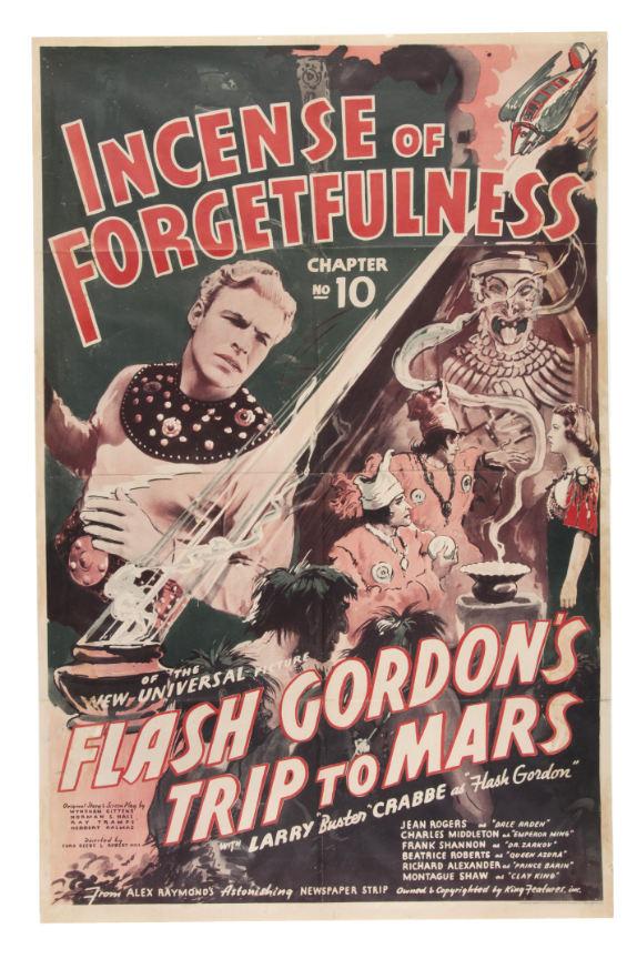 flash gordon trip to mars movie poster