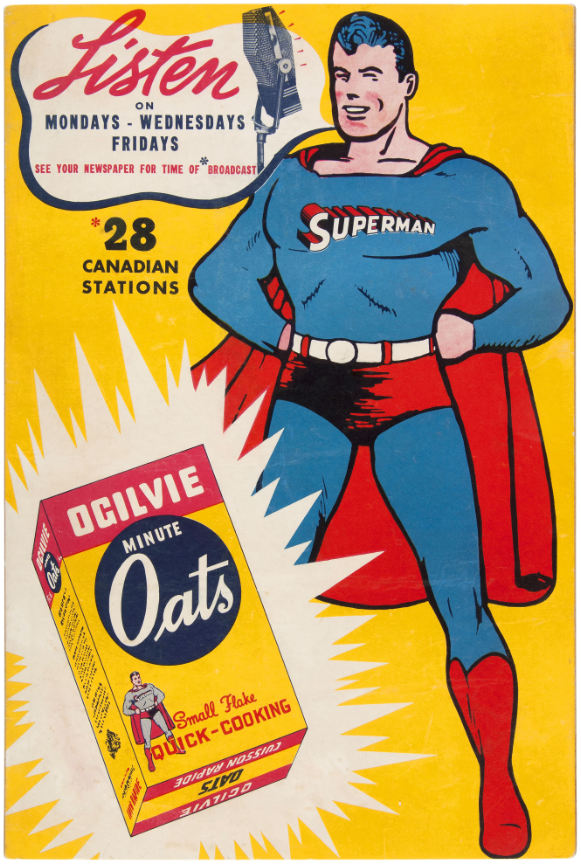 superman-ogilvie-minute-oats-standee