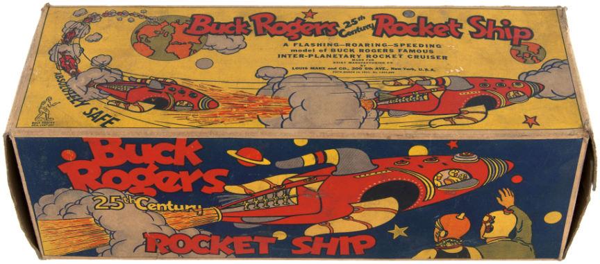 buck rogers rocket ship