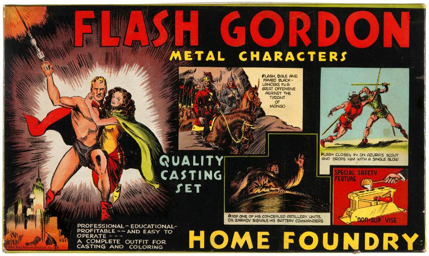 flash gordon home foundry