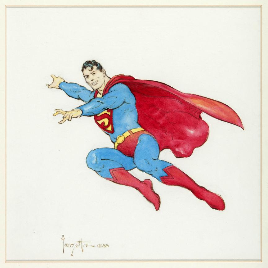 frank frazetta superman