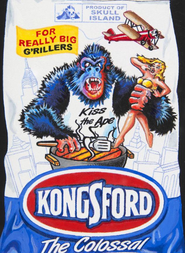 kongsford original wacky packages art