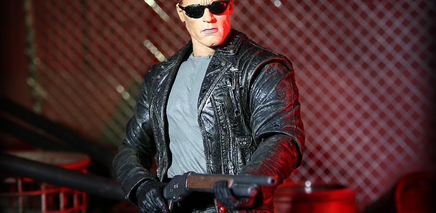 Terminator 2 Ultimate T-800 figure from NECA