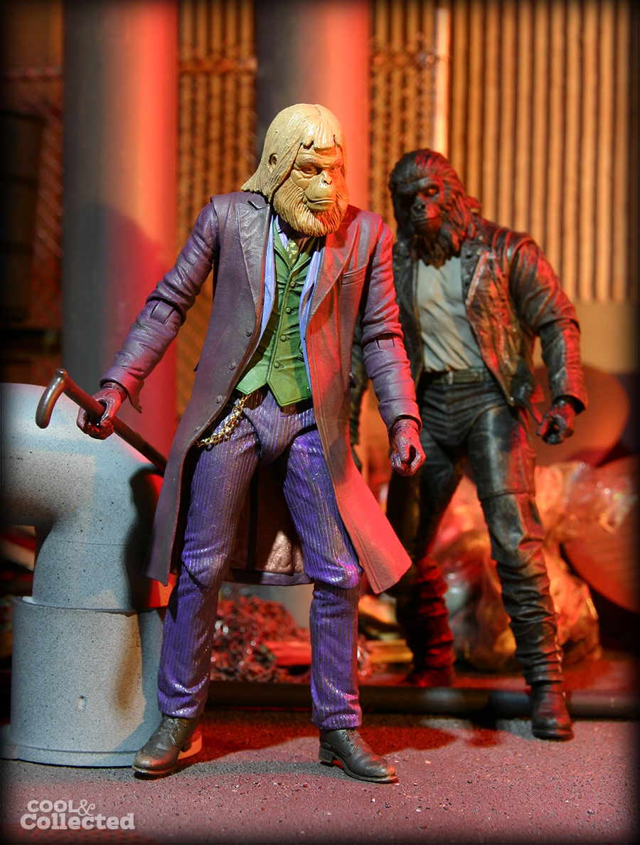 neca custom planet of the apes figures