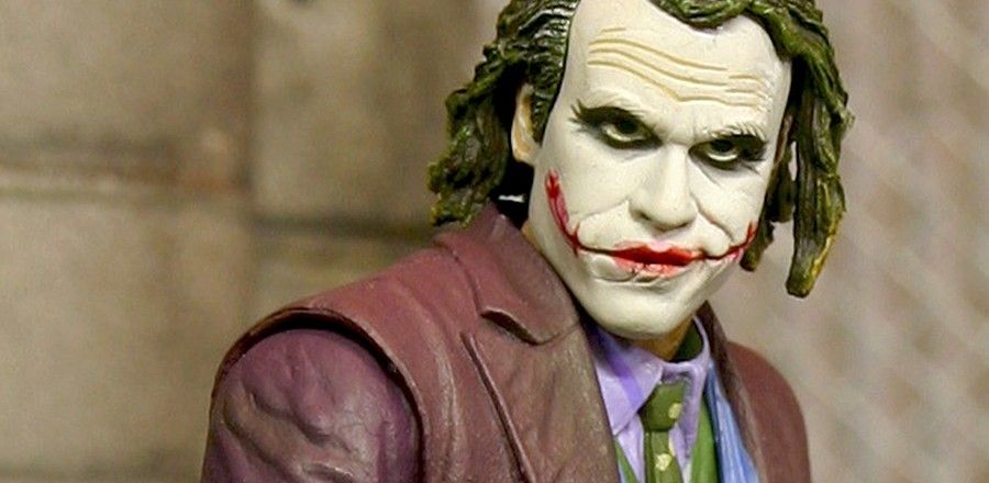 Neca's Heath Ledger Joker figure
