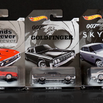 You can drive home with these 007 cars now!