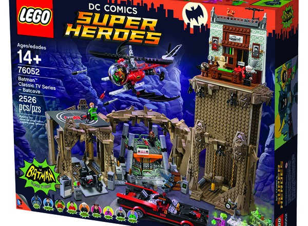 The LEGO Classic TV Series Batcave is coming soon!