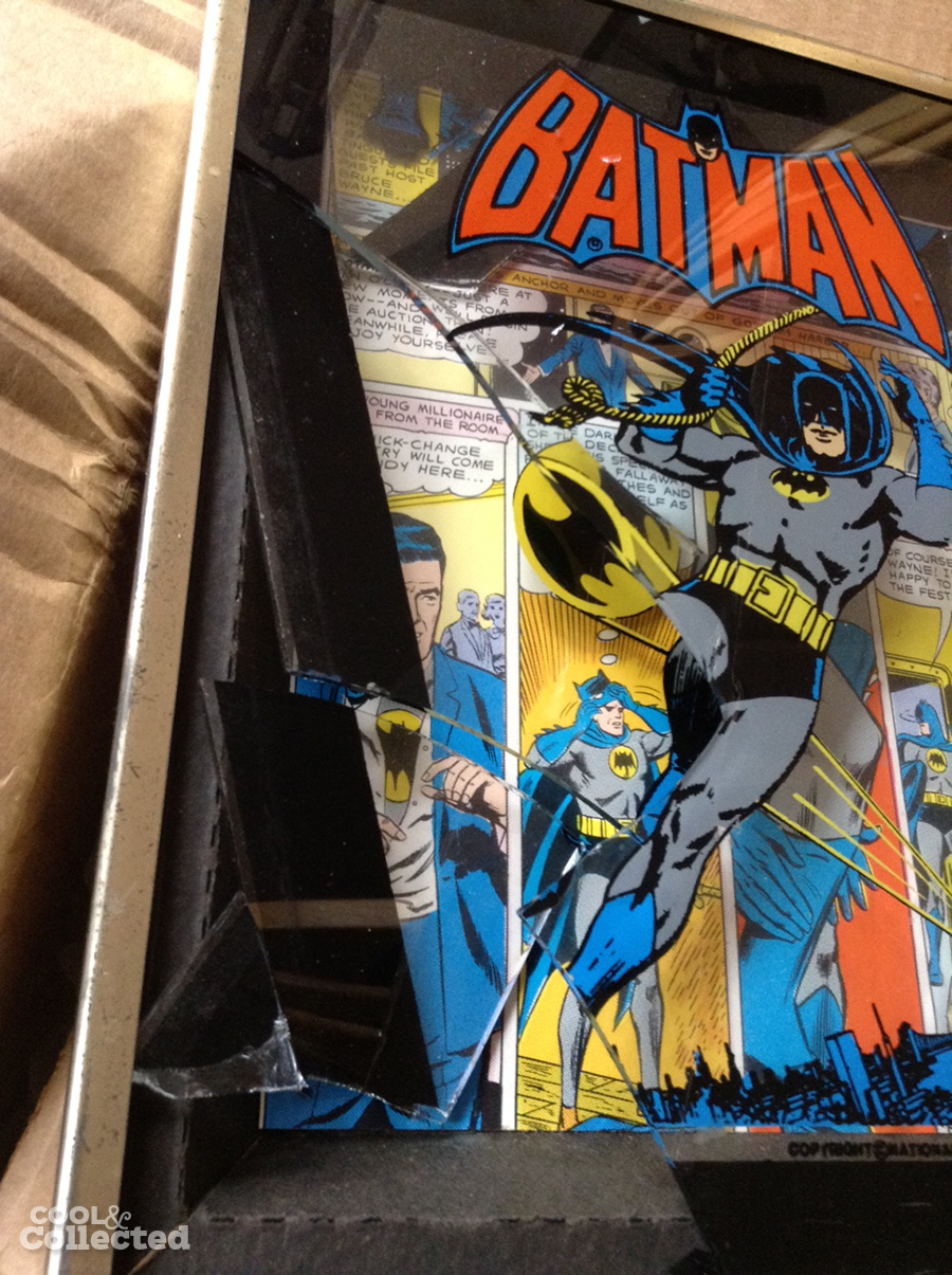 broken batman frame