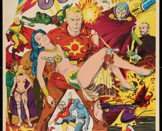The one that got away: 1970's Flash Gordon poster