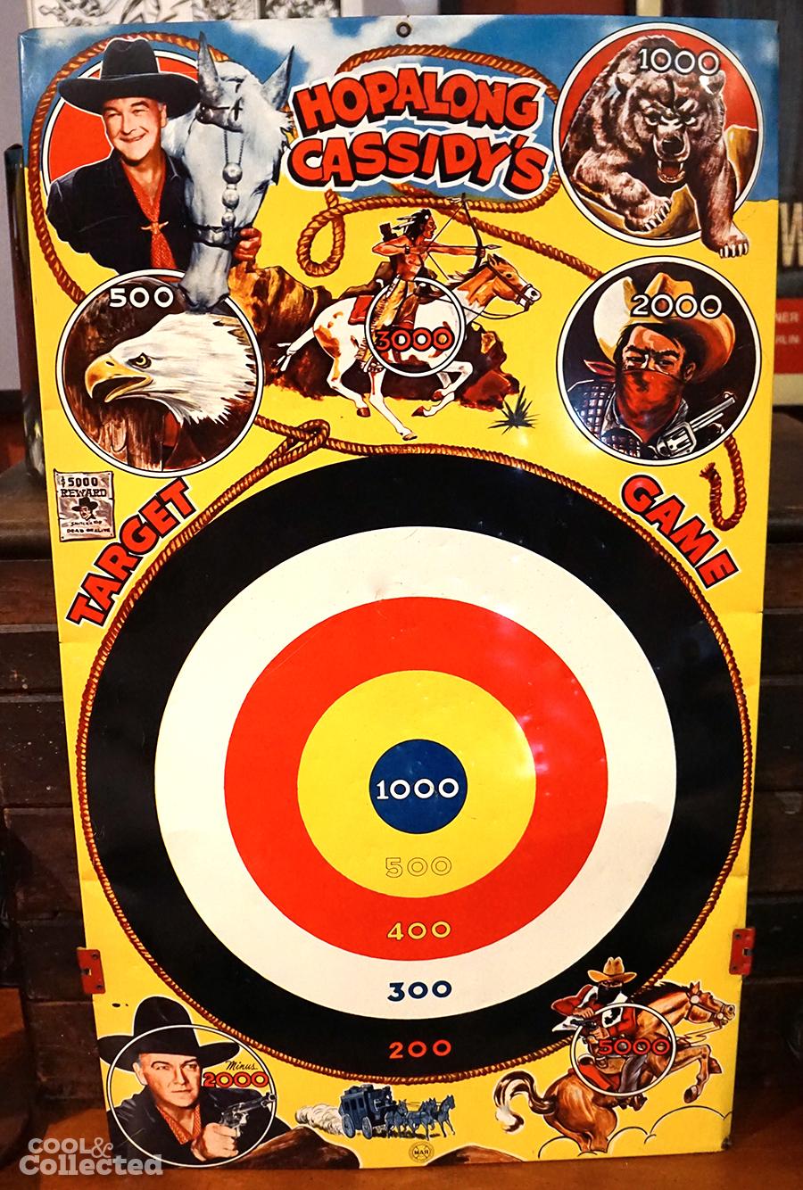 vintage-hopalong-cassidy-target-game - 1