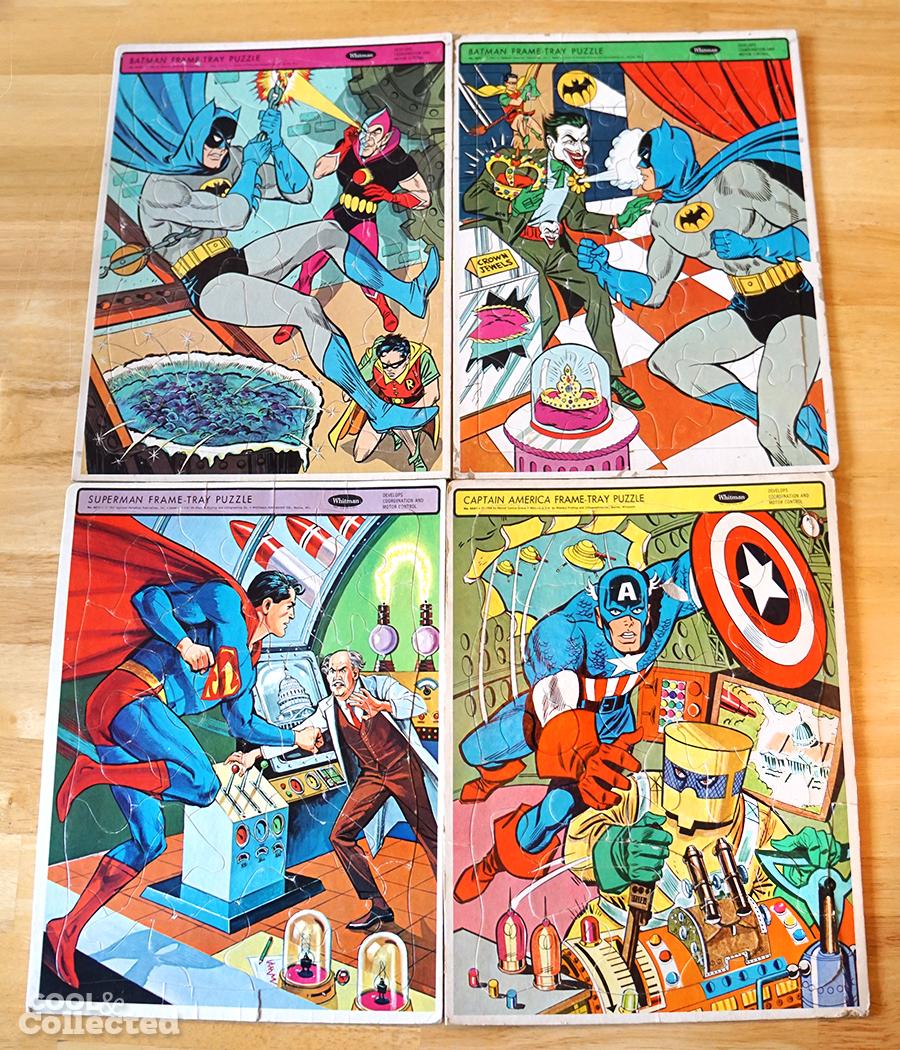 vintage-superhero-frame-tray-puzzles - 1